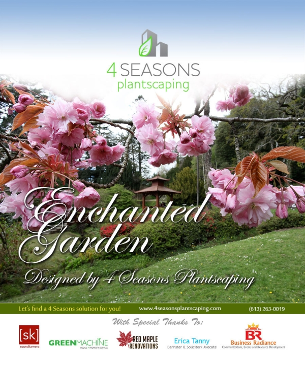 Enchanted Garden by 4 Seasons Plantscaping